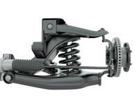3d suspension model