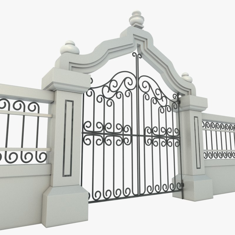 maya elegant iron gate