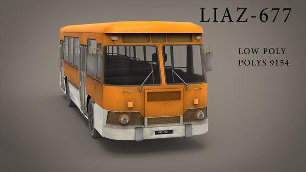 ready bus 3d model