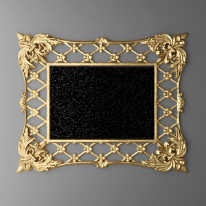 maya baroque frame mirror