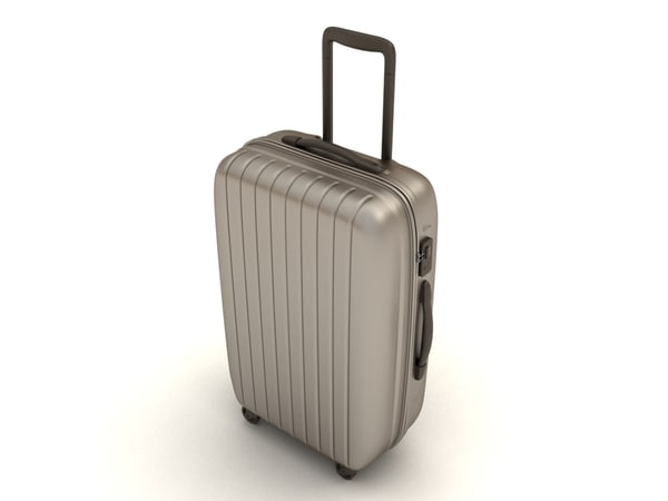 suitcase 3d model