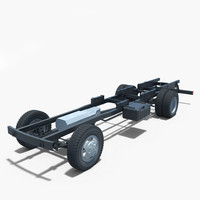 3d chassis 4 model