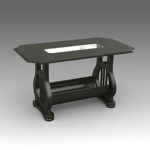3d model coffee table