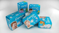 diapers package