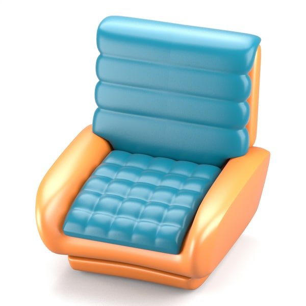 3d model futuristic design chair