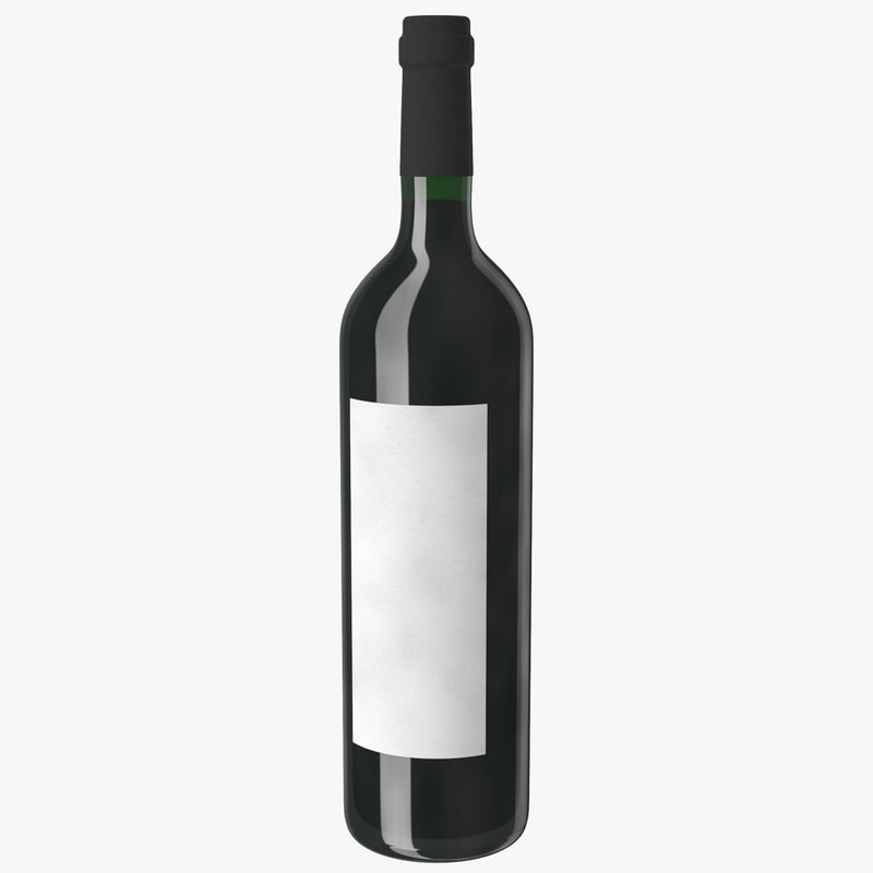 wine bottle red max
