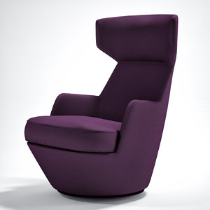 3d turn armchair bensen
