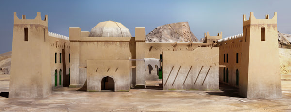 old arab home 3d max