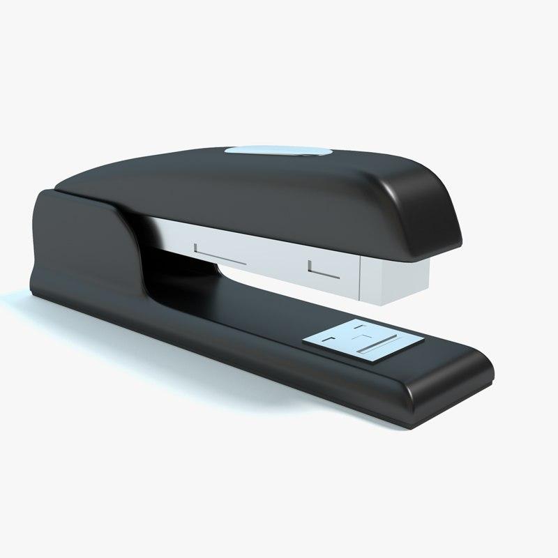 stapler staple 3d model