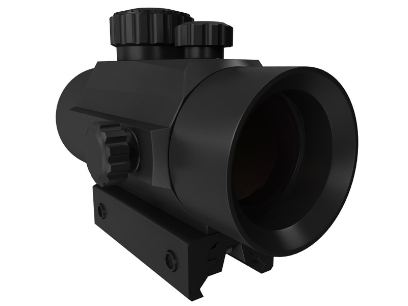 optic sight 3d max