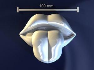 lips tongue max