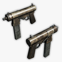 compact submachine gun max