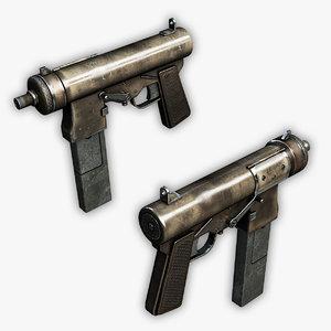 compact submachine gun max