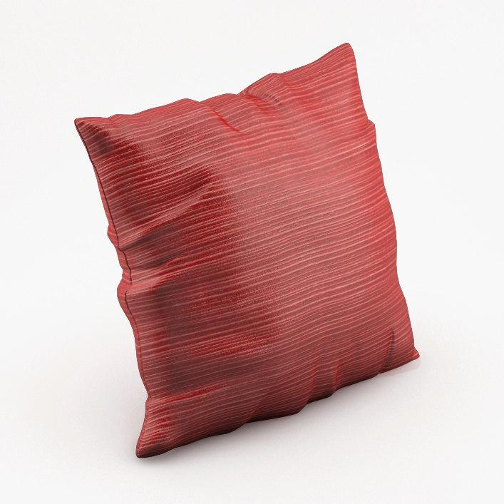pillow obj