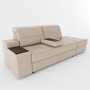 sofa d2 3d max