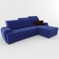 3d model sofa aliot ottamanka