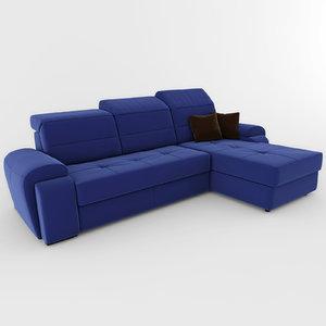 3d model sofa aliot ottamanka