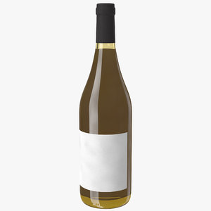wine bottle white max