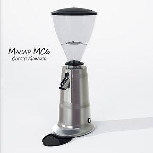 grinder macap mc6 3d max
