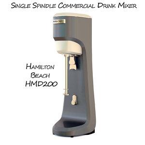 3d single hmd200 model