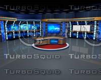 3d virtual set program model