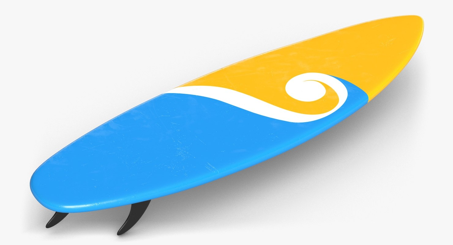 surfboard surf 3d model
