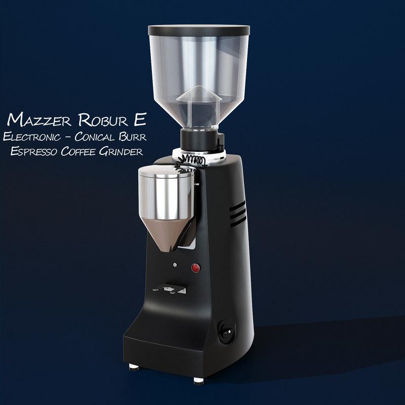 mazzer robur coffee grinder max