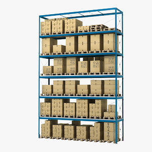 3d model warehouse storage unit