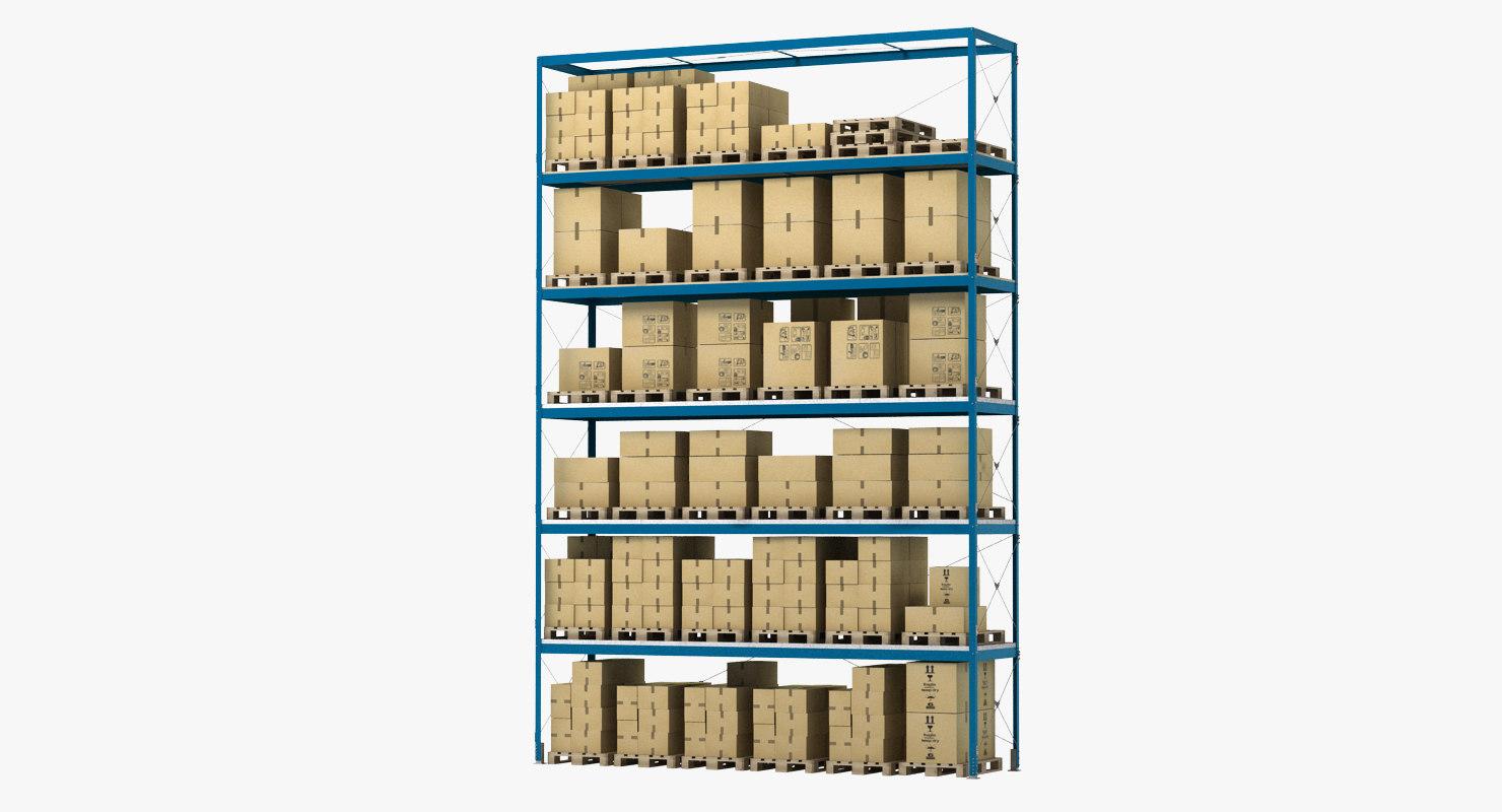 3d model warehouse storage unit