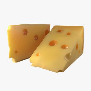 3dsmax cheese wedge 2