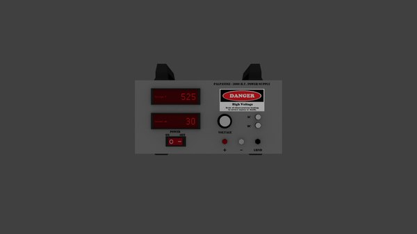 3ds max voltage power supply