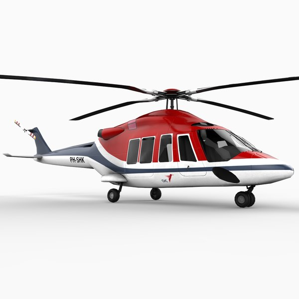 c4d agustawestland aw139 helicopter bell