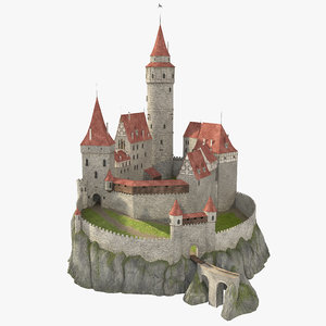 castle cliff 3d 3ds