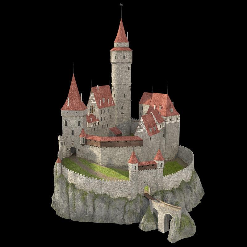 castle cliff 3d 3ds