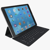 3d model ipad pro apple smart