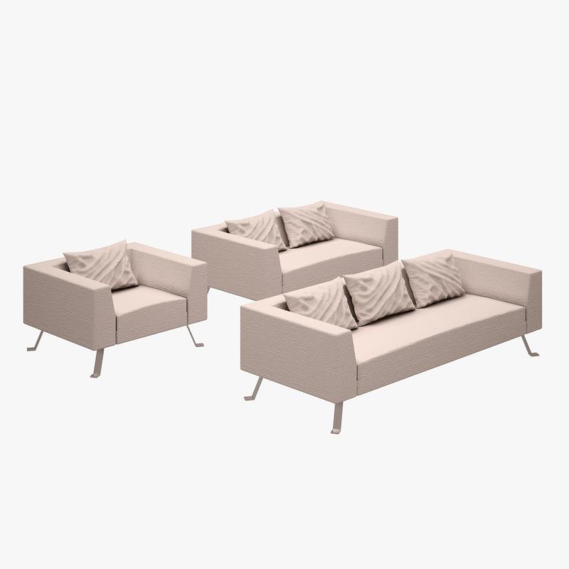 chagall sofa set max