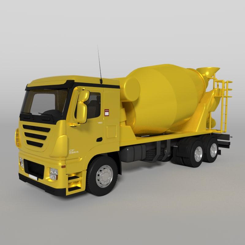 x cement mixer