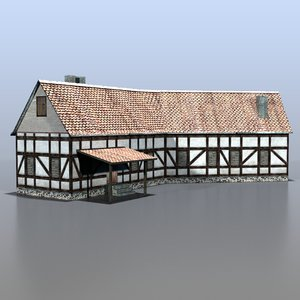 3d house german model
