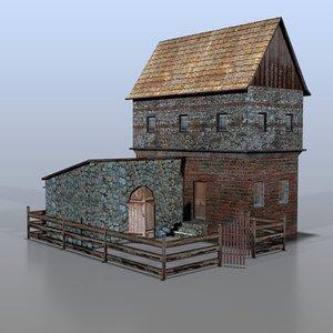 3d model house german