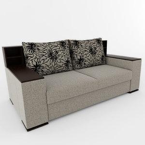 sofa 001 3d obj