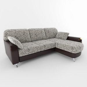 3d sofa 004 model