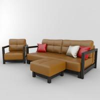 3ds max chair sofa