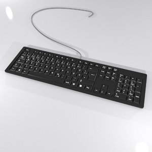 keyboard desktop 3d max