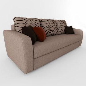 sofa 005 3d model