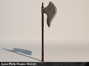 3ds max battle axe
