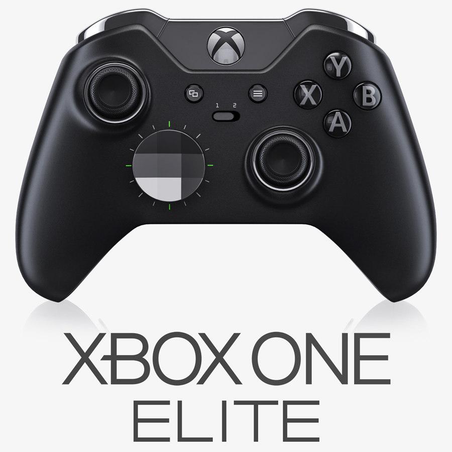 xbox elite controller obj