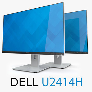 3d model dell ultrasharp 24