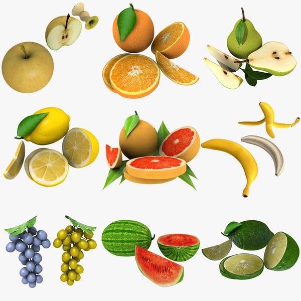 mega fruit 3d 3ds