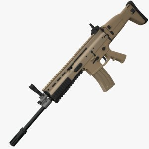 3d assault fn scar l