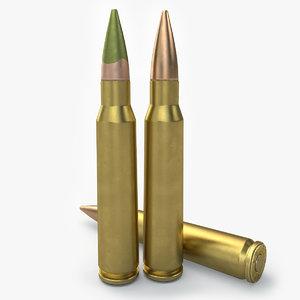 cartridge 5 56x45 3d 3ds